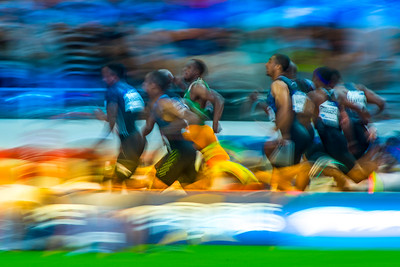 France, Paris : Illustration 100 m men, Akani SIMBINE (RSA), 100m Men, during the IAAF Diamond League - Meeting of Paris   in August 27th , 2016, in Paris, France - Photo Christophe Bricot/DPPI Media