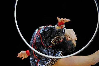 ZETLIN JULIE (USA) CERCEAU  Internationaux de GRS de Thiais - 27 et 28 Mars 2010 Gymnastique Rythmique et sportive © Christophe Bricot