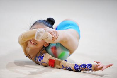 YU HAOCONG (CHN) BALLON JUNIORS - INDIVIDUELLES Internationaux de GRS de Thiais - 27 et 28 Mars 2010 Gymnastique Rythmique et sportive © Christophe Bricot