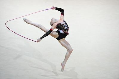 MOUSTATAEVA KSENIA (ZZZ) CORDE JUNIORS - INDIVIDUELLES Internationaux de GRS de Thiais - 27 et 28 Mars 2010 Gymnastique Rythmique et sportive © Christophe Bricot