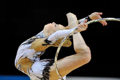 ONOPKO EUGENIA (ESP) CERCEAU JUNIORS - INDIVIDUELLES Internationaux de GRS de Thiais - 27 et 28 Mars 2010 Gymnastique Rythmique et sportive © Christophe Bricot