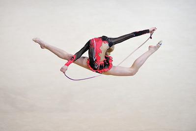 ONOPKO EUGENIA (ESP) CORDE JUNIORS - INDIVIDUELLES Internationaux de GRS de Thiais - 27 et 28 Mars 2010 Gymnastique Rythmique et sportive © Christophe Bricot