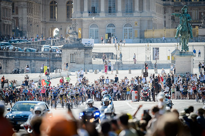 the 21th and last stage of the 108th edition of the Tour de France cycling race, 108 km between Chatou and Paris Champs-Elysees,