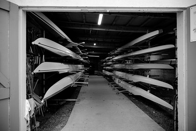 training cession of Cercle Nautique of Versailles (rowing club),