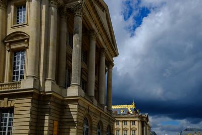 à Versailles, Château et Pièce d'eau des Suisses,