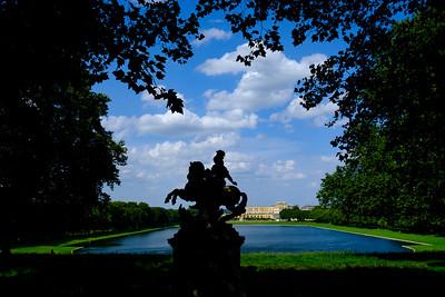 de Versailles (Versailles walk) , Pièce d'eau des Suisses, Parc du Château de Versailles
