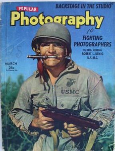 POPULAR PHOTOGRAPHY MAGAZINE MARCH 1943