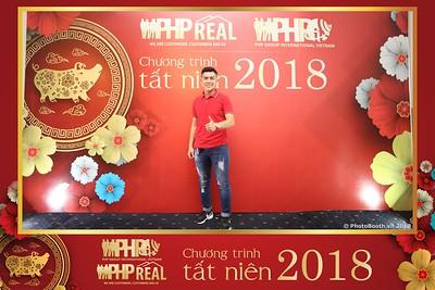 PHP Real - Year End Party 2018 Photobooth in Saigon - Chụp ảnh in hình lấy liền Tất niên 2018 tại TP. HCM
