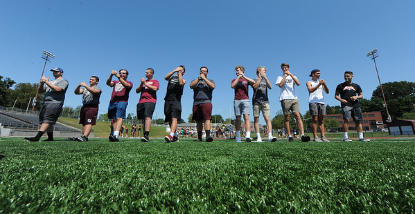 Phillipsburg cheerleaders, athletes play a different tune Friday when they trade places with the band