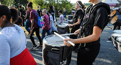 Phillipsburg band marches to season opener football game, Sept. 20, 2019