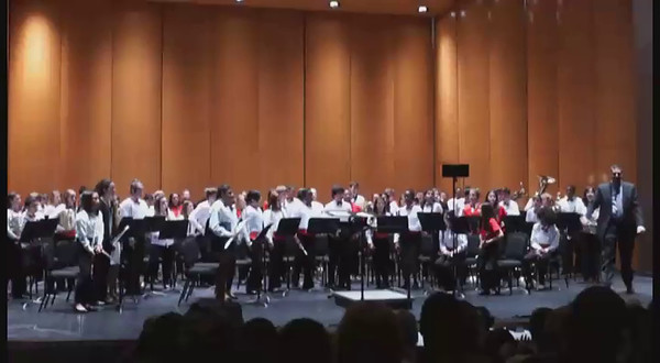 Jacob's Regional Band Concert on 011715