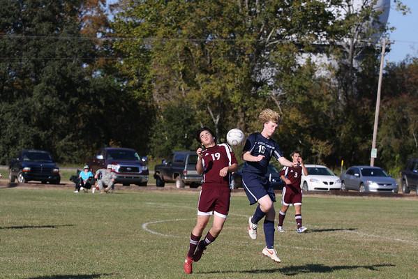 Boys Rebel Soccer Scrimage Nov 7, 2009