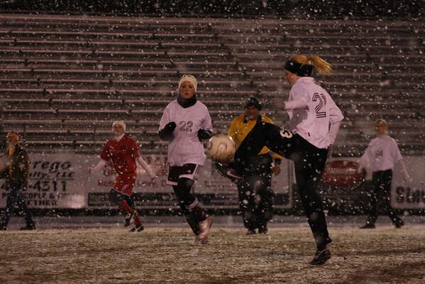 The Snow Bowl, PHS Vs Tioga Dec 4, 2009