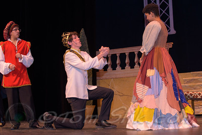 PHS Theatre Cinderella rehearsal 2018