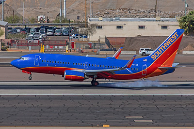 Southwest Airlines Boeing 737-7BD N7746C 3-7-20