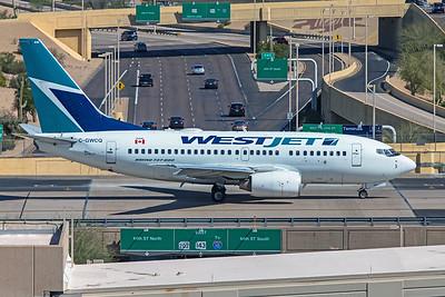 WestJet Boeing 737-6CT C-GWCQ 3-7-20