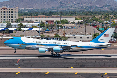 United States Air Force Boeing VC-25A 82-8000 5-5-20 3