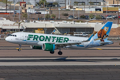 Frontier Airlines Airbus A320-251N N328FR 3-7-20