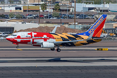 Southwest Airlines Boeing 737-7H4 N214WN 3-7-20 2