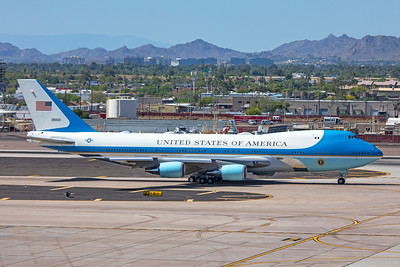 United States Air Force Boeing VC-25A 82-8000 5-5-20 2