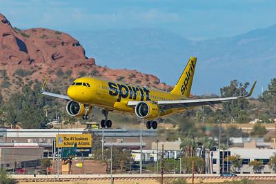 Spirit Airlines Airbus A320-271N N923NK 3-7-20