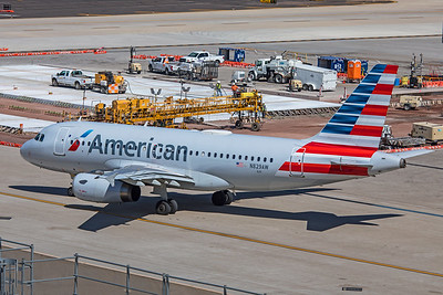 American Airlines Airbus A319-132 N829AW 3-7-20