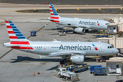 American Airlines Airbus A319-112 N762US 3-7-20