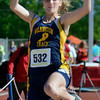 Cory Byknish/Herald<br /> Hannah Drake, Wilmington Long Jump
