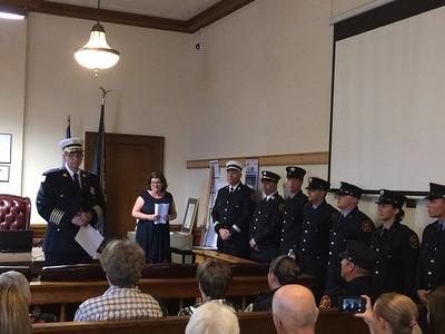 PICS: Saratoga Springs firefighters sworn in