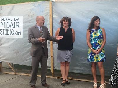 PICS: Troy-Menands bridge mural unveiled