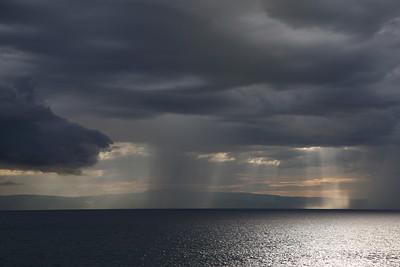 Sun Peaking Through Storm Clouds, Wahoo Haiti