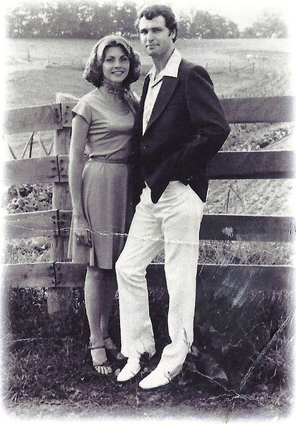 1. Our engagement picture, 1977.