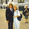 5a. Pam with Michael Landon in Washington, DC in 1990.