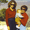 3a. Pam with Jeremiah and her mom at the Grand Canyon in the fall of 1980.