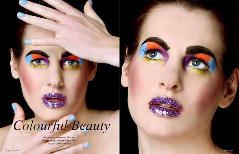 Editorial beauty shoot - Chertsey Surrey