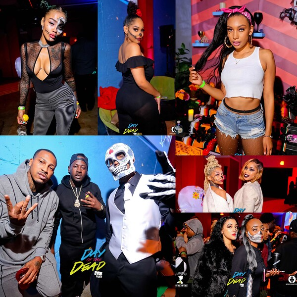 PINE APPLES WORLD WIDE PRESENTS DAY OF THE DEAD HOSTED BY B.O.B  PINEAPPLES MODELS AND TROUBLE