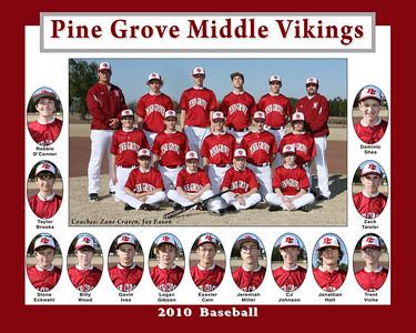 PGMS A Baseball
