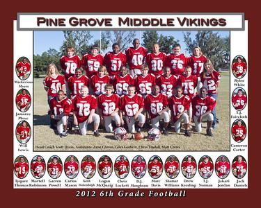 2012 6th Grade football