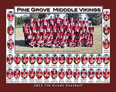2012 7th Grade Football