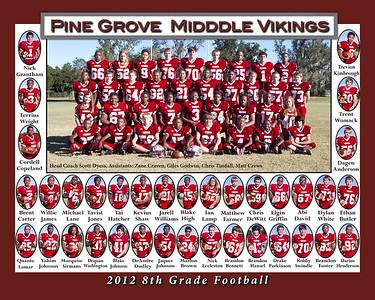 2012 8th Grade Football