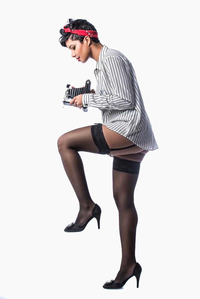Model: Arie Rivers, MUA and Hair Styling: Anastasiia Starinska