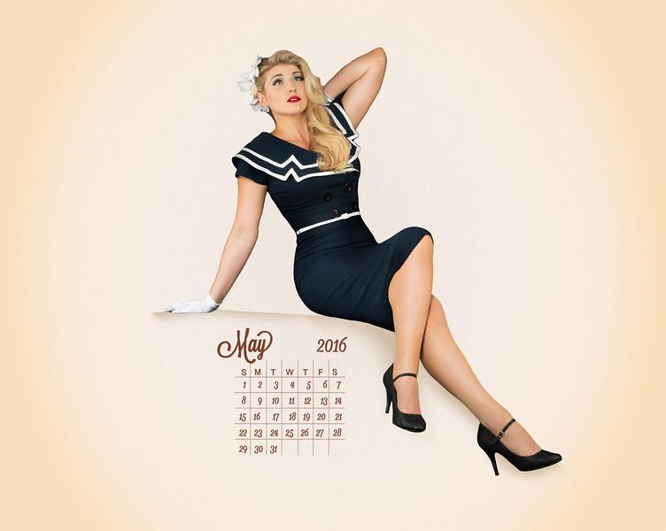 2016 American Bombshells  Calendar