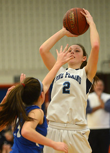 Tnaia Barricklo-Daily Freeman  Pine Plains' Haley Strang guarded by Haldane 15