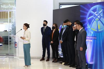 """2021 оны есдүгээр сарын 7.Үндэсний соёл амралтын хүрээлэнд  болох """"ICT EXPO-2021"""" арга хэмжээний талаар ХХЗХ-ноос мэдээлэл хийлээ.ГЭРЭЛ ЗУРГИЙГ Д.ЗАНДАНБАТ/MPA"""