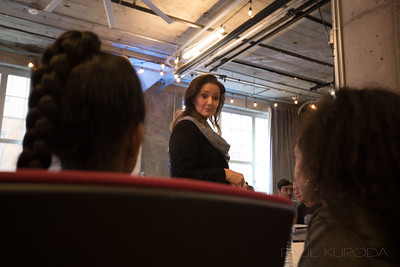 Libby Schaaf at Lindee's Oakland Youth Advisory meeting