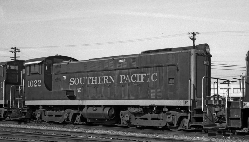 1022 Class DS-7, right side, West Oakland CA, 1962<br /> (Kyle Brewster)