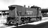 2738 Class ES415-8, left front, at SP depot, Houston TX, 2/27/77<br /> (Allen Rider)
