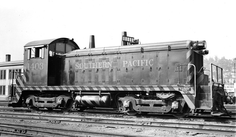 1403 Class DS-109, right side, Los Angeles CA, 7/27/49<br /> (Allan Youell)