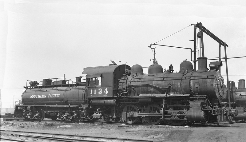 1134 Class S-8, right side, Wilmington-Harbor Belt Line, CA, 1/10/49 <br /> (Uncredited; probably Stan Kistler)