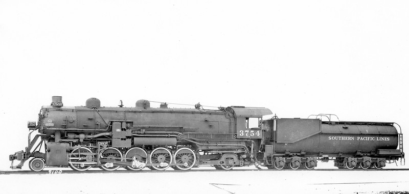 3754 Class F-5, left side, Baldwin-Eddystone PA, Feb. 1924 <br /> Builder's photo (Sheldon King collection)